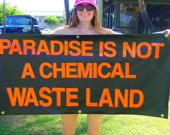 SAVE HAWAII FROM GMO & OPEN-AIR CHEMICAL EXPERIMENTS