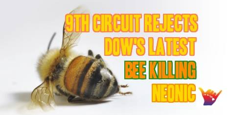 Federal Court Overturns Epa Approval Of Bee-Killing Pesticide
