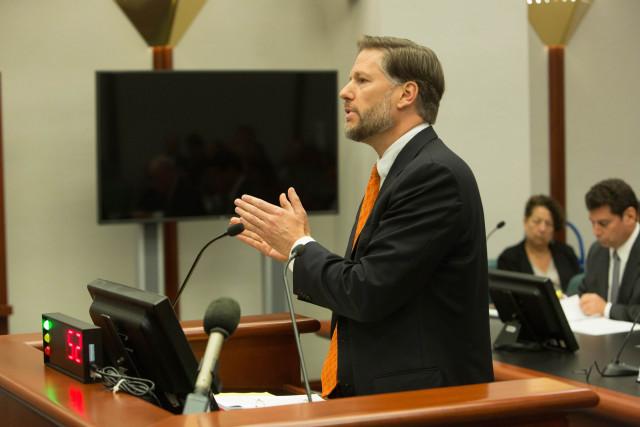 Attorney Christopher Landau argued on behalf of Syngenta Seeds