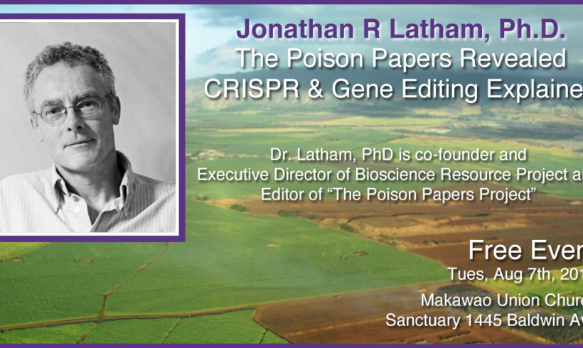 Join us for The Poison Papers Revealed!